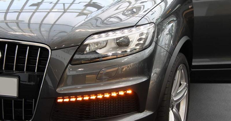 Zdjęcie świateł Audi Q7