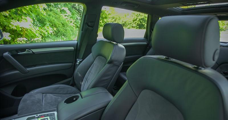 Przednie fotele Audi Q7