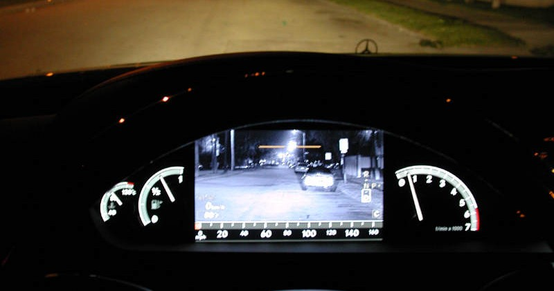 System Night Vision w Mercedesie S-klasy