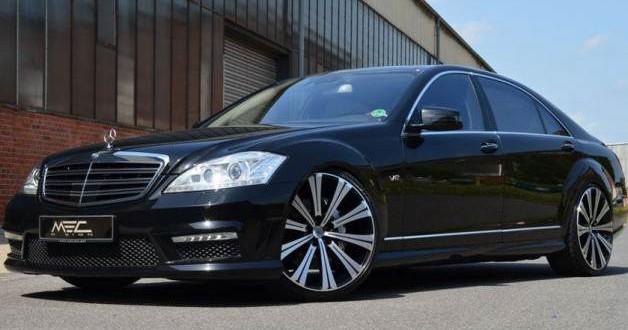 Mercedes S-klasa samochód luksusowy