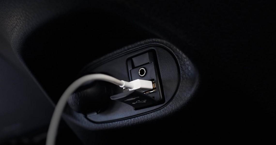 Toyota Yaris wejście aux i USB