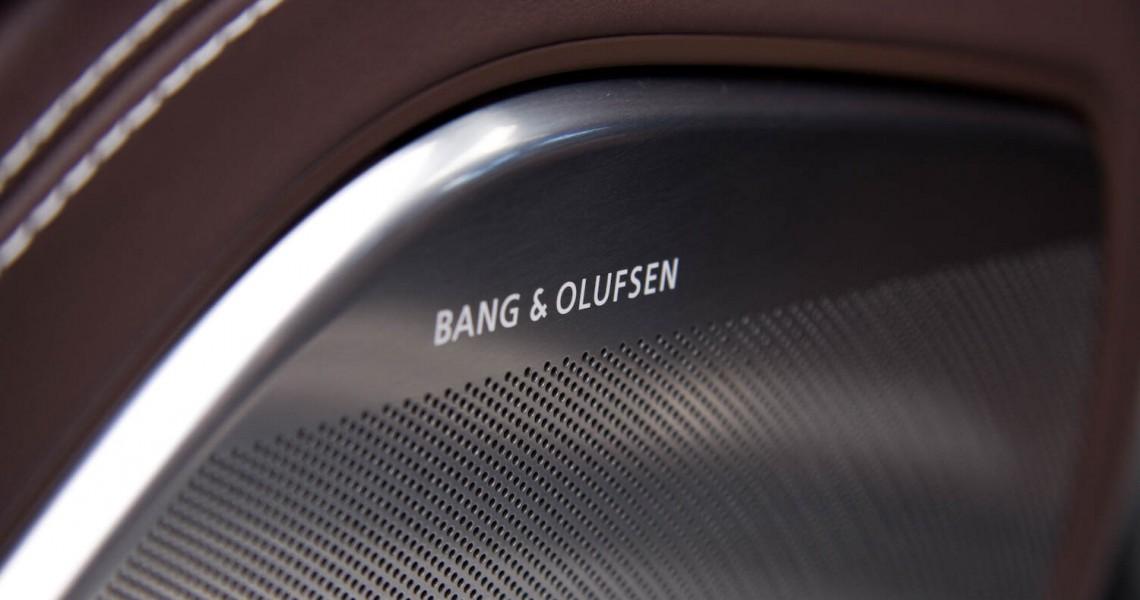 Nagłośnienie w wynajmowanym Audi S8