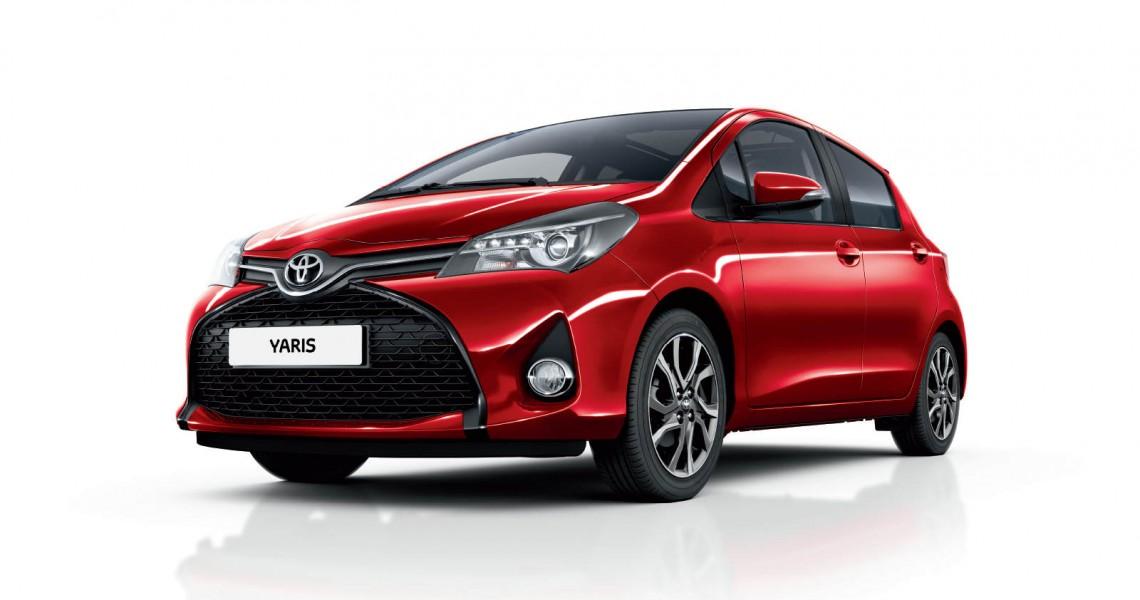 Toyota Yaris przód