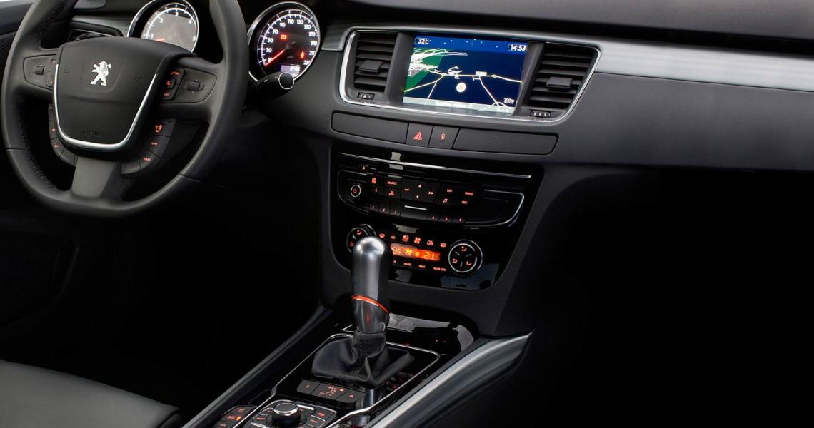 Panel centralny Peugeot 508