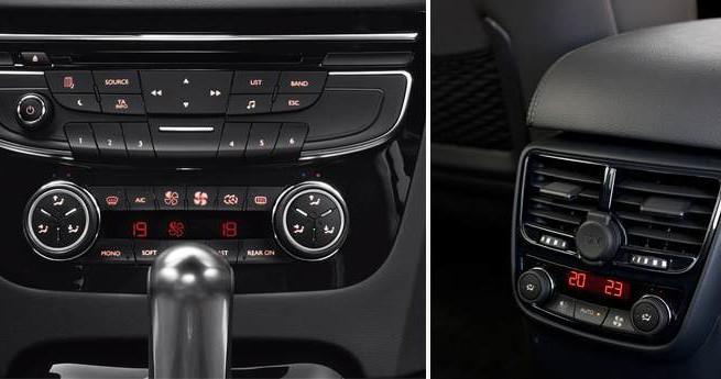 Panel sterowania Peugeot 508
