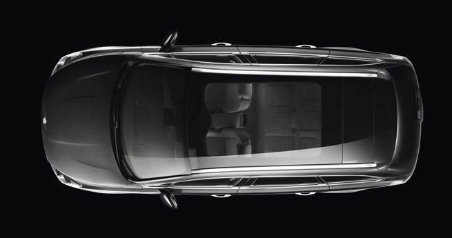Panorama dach Peugeot 508