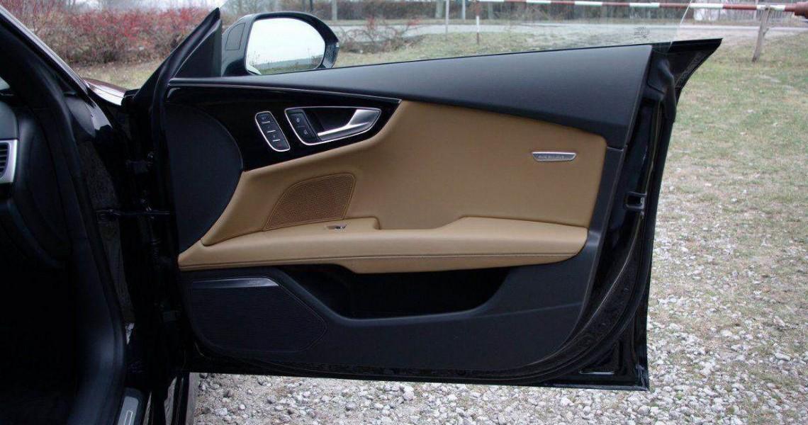 Wypożyczalnia Audi S7 - boczki drzwi