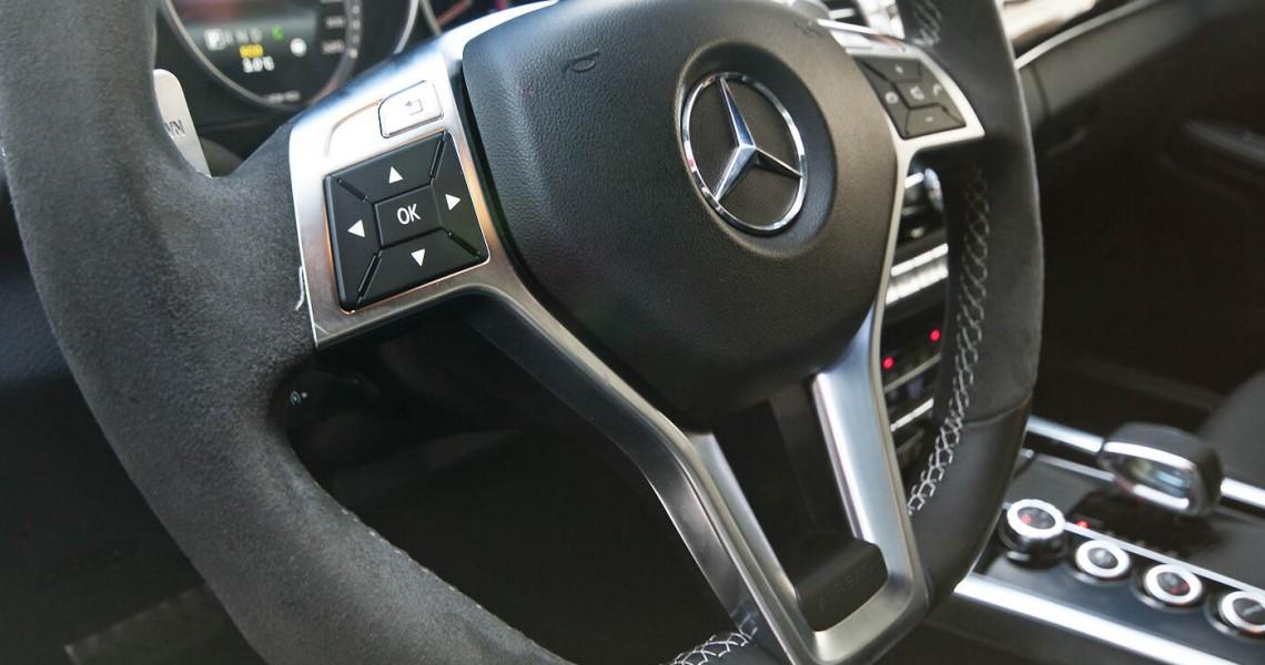 Kierownica Mercedes E63 AMG
