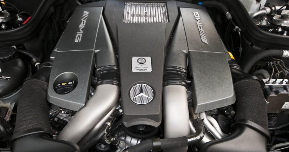 Silnik Mercedes E63 AMG