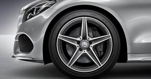 Aluminiowa felga w naszym Mercedesie klasy C