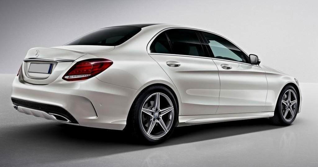 Prawy bok Mercedes C klasa - Wypożyczalnia samochodów Car4Vip