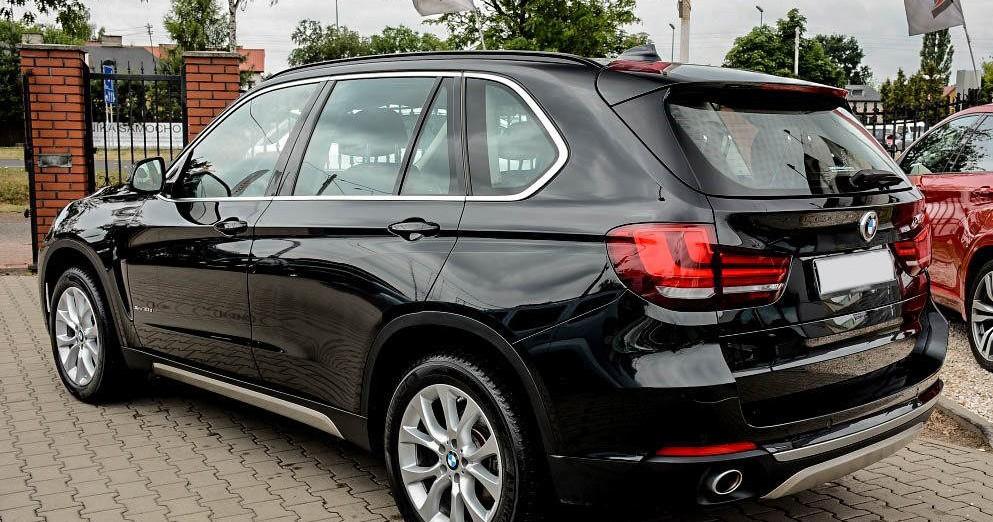 Lewy tylni profil BMW X5