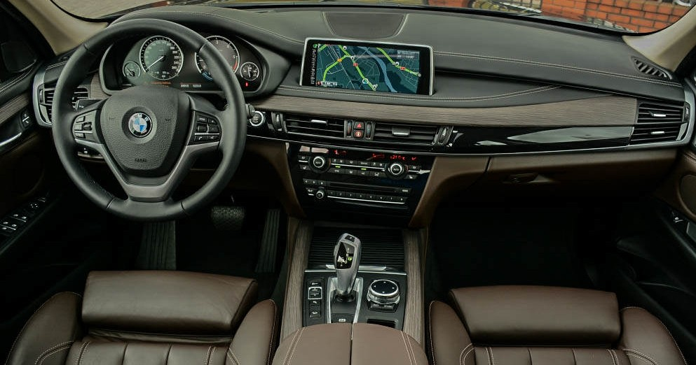 Kokpit BMW X5