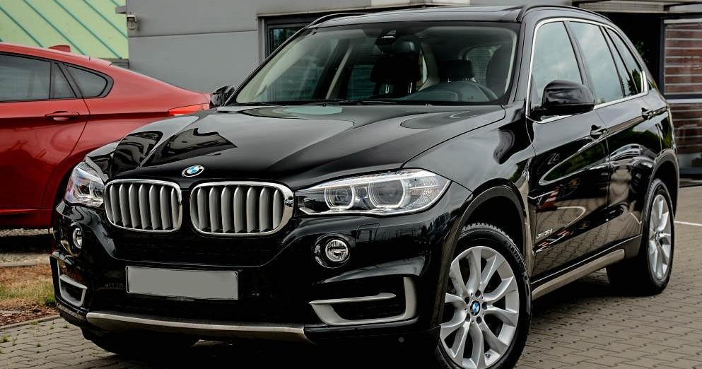 Lewy przód BMW X5