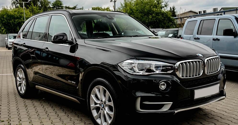 Prawy przód BMW X5