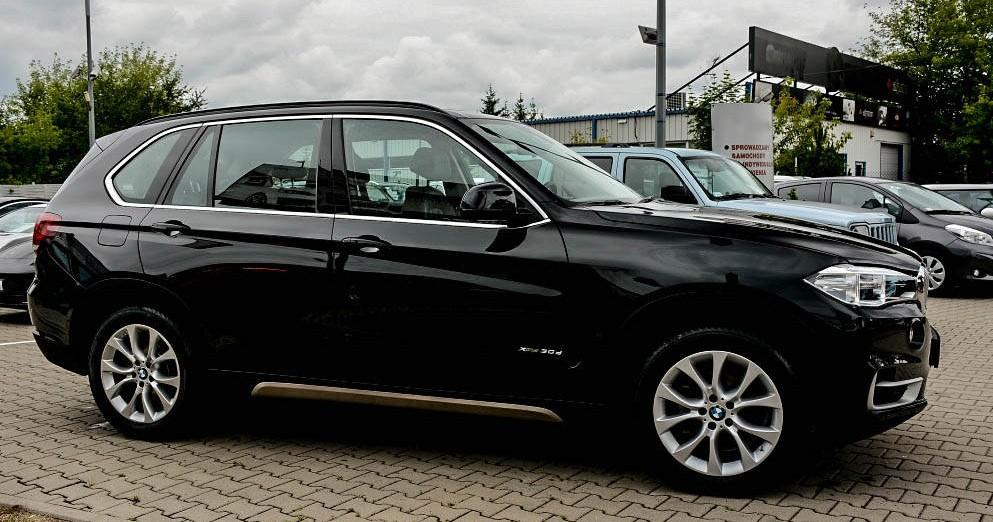 Prawy profil BMW X5