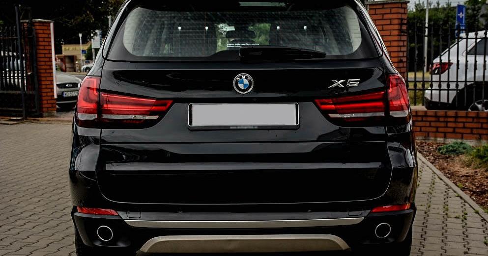 Tył BMW X5
