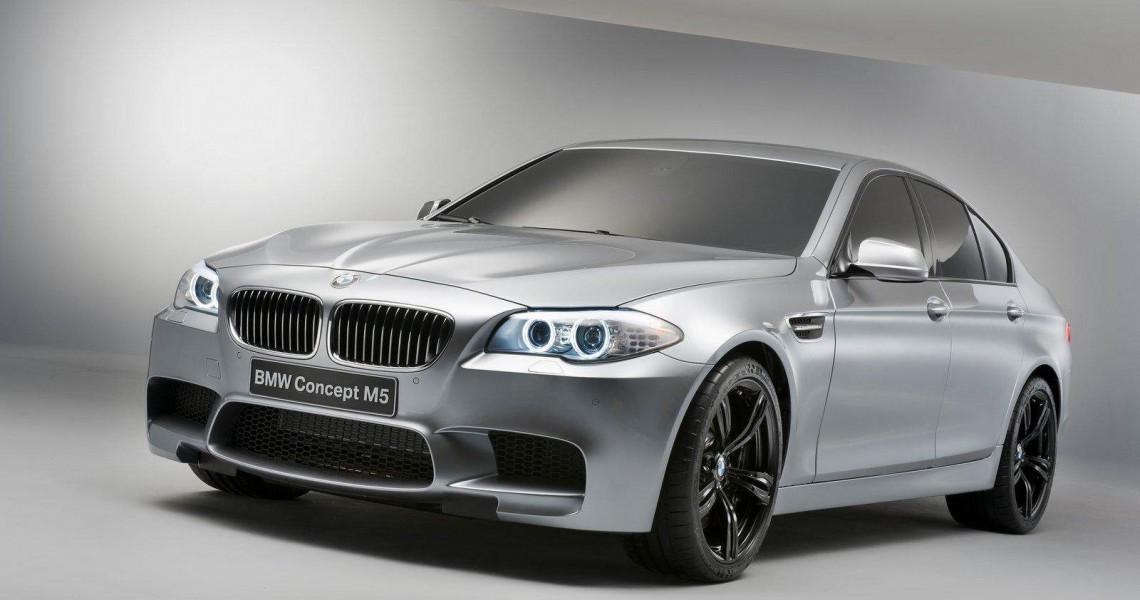 Lewy przód BMW M5