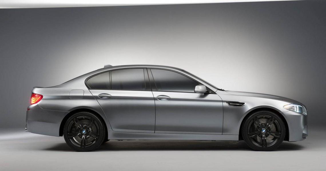 Prawy bok BMW M5