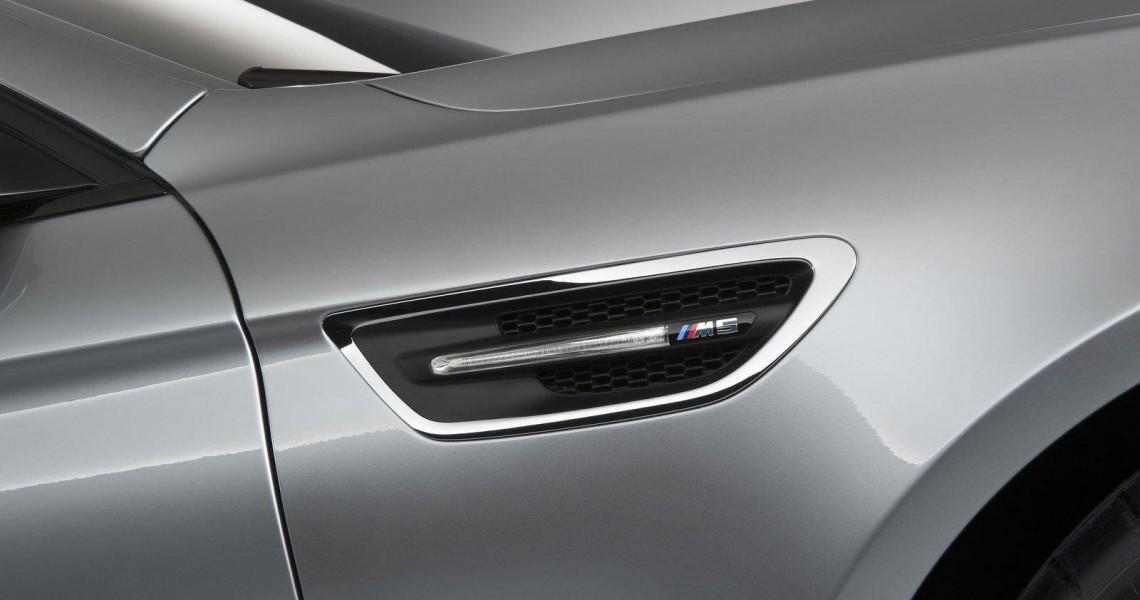 Boczne wloty powietrza BMW M5