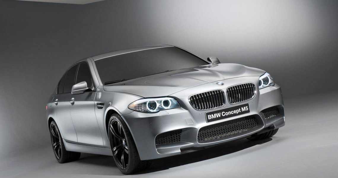 Prawy przód Wynajmowanego BMW M5
