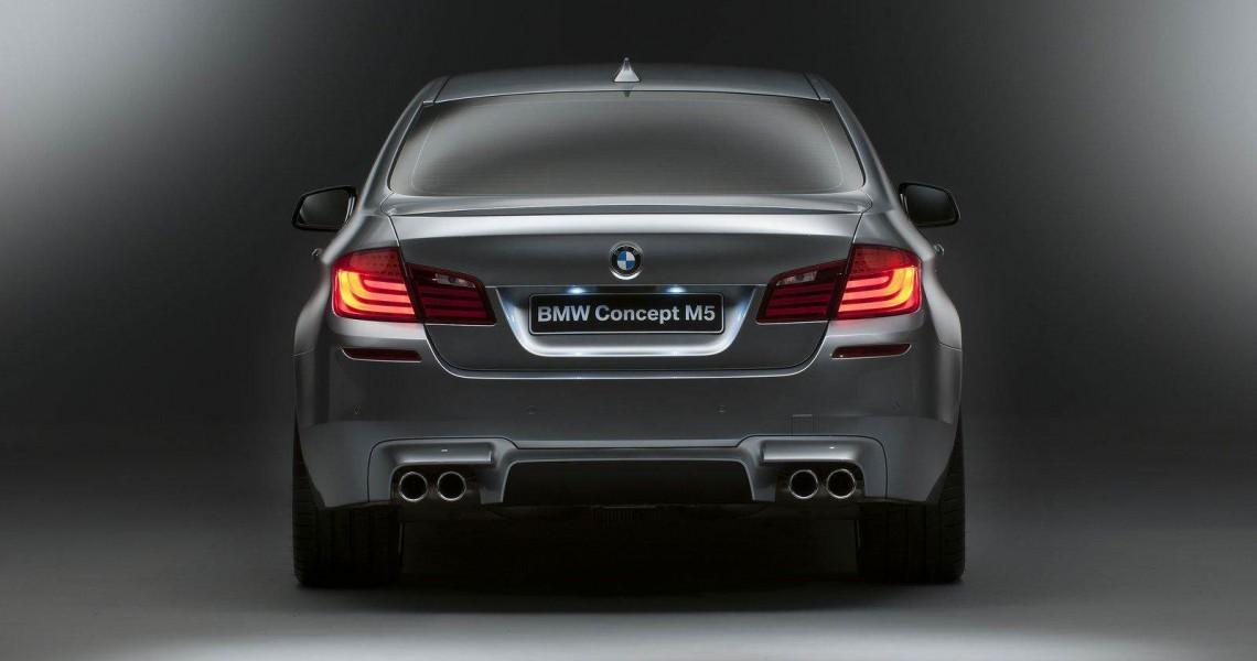 Tył BMW M5