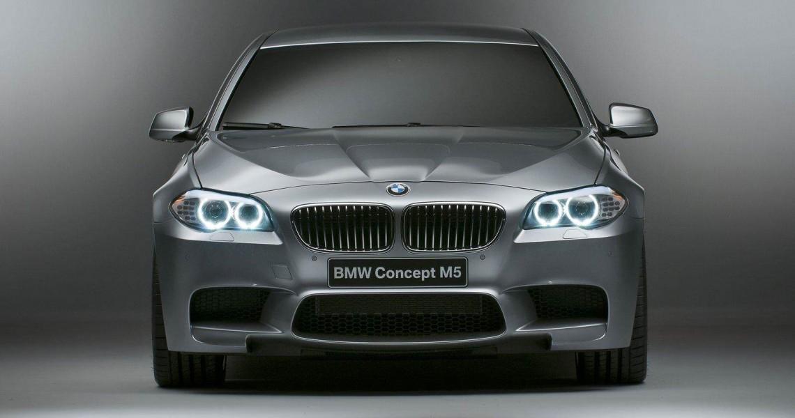 Przód BMW M5