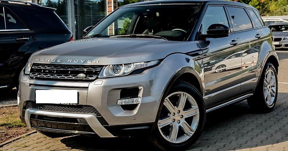 Lewy przód Range Rover Evoque
