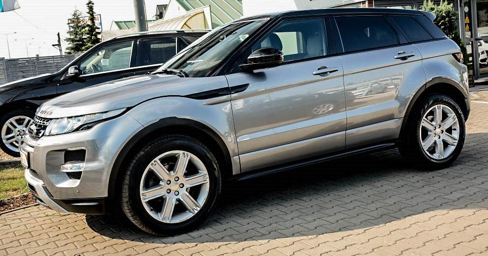 Lewy bok Range Rover Evoque