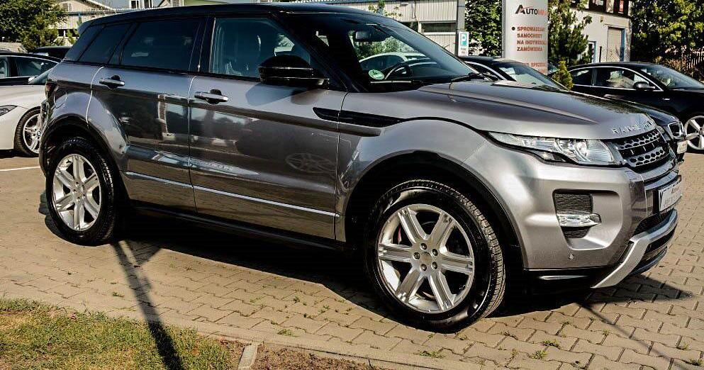 Prawy przód Range Rover Evoque