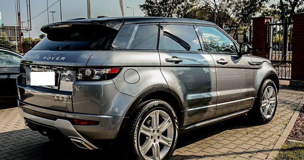 Prawy tył Range Rover Evoque