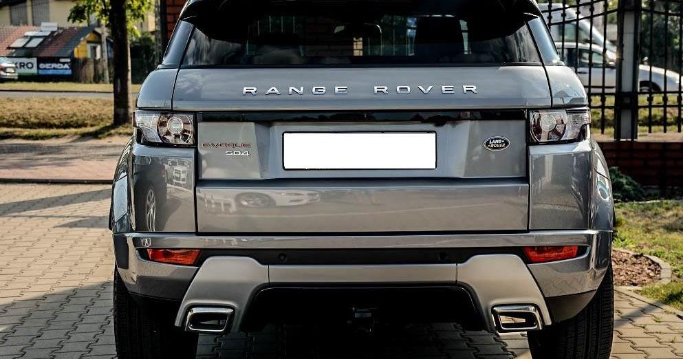 Tył Range Rover Evoque