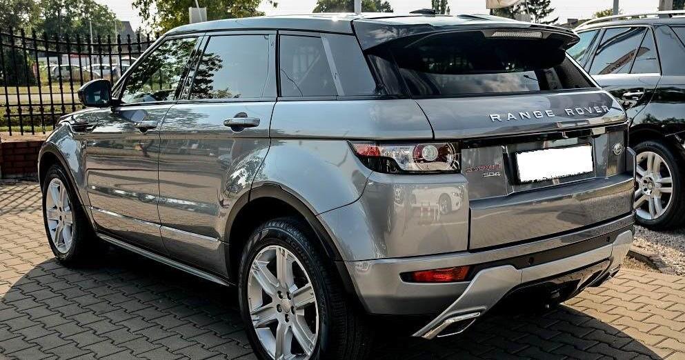 Lewy tył Range Rover Evoque