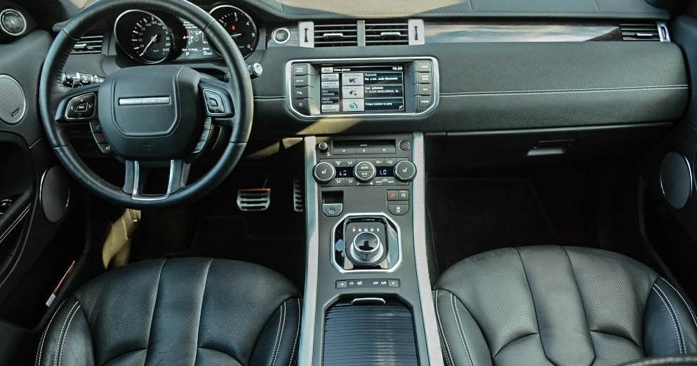 Kokpit Range Rover Evoque