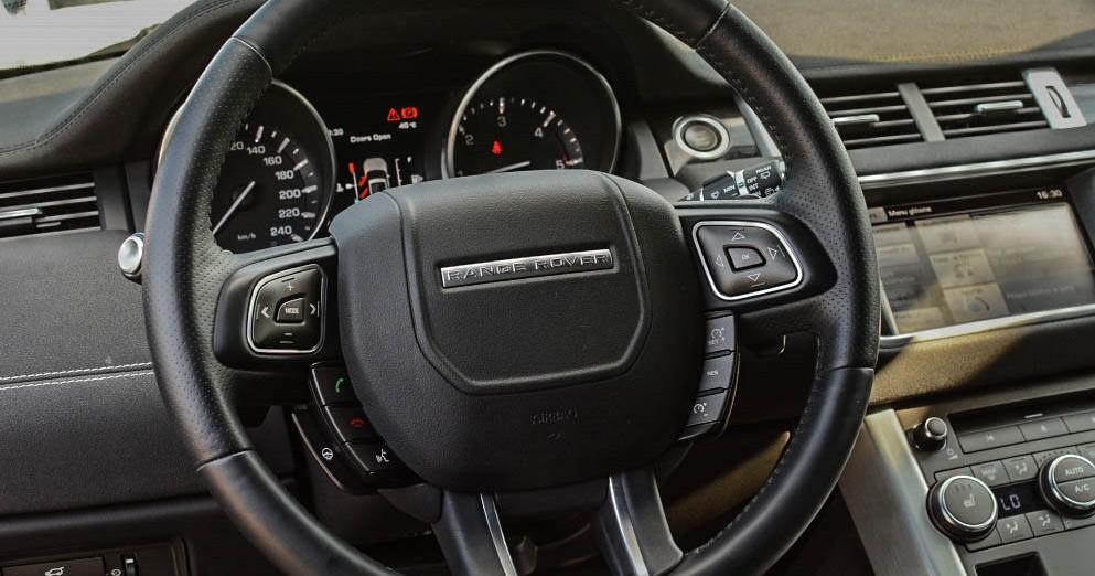 Kierownica Range Rover Evoque