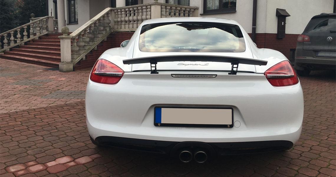 Porsche Cayman S tył