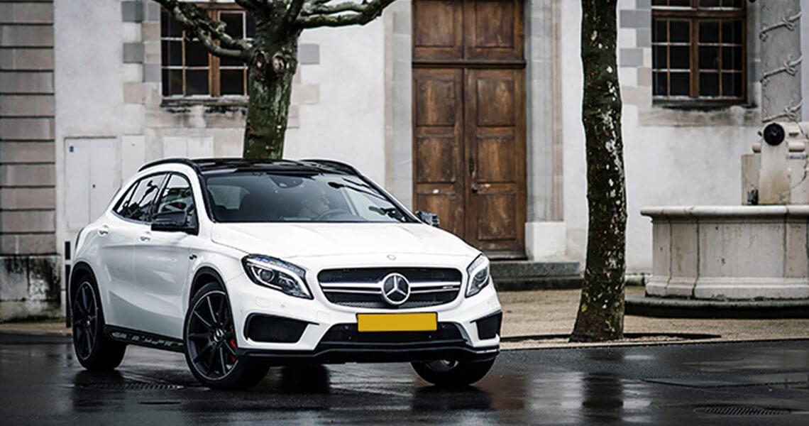 Mercedes GLA 45 AMG wypożyczalnia Warszawa