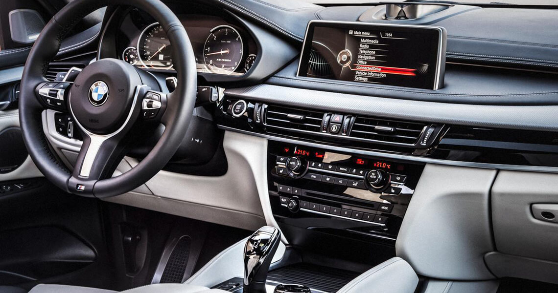 BMW X5 F15 M50d środek