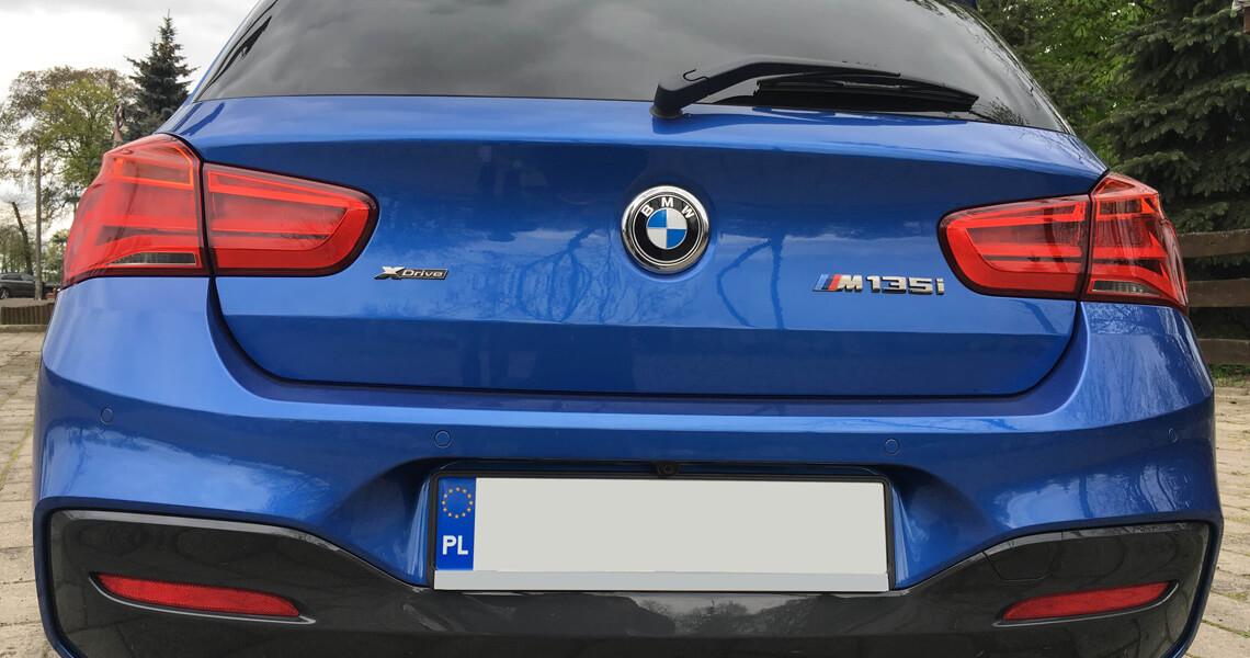 BMW m135i xDrive - tył