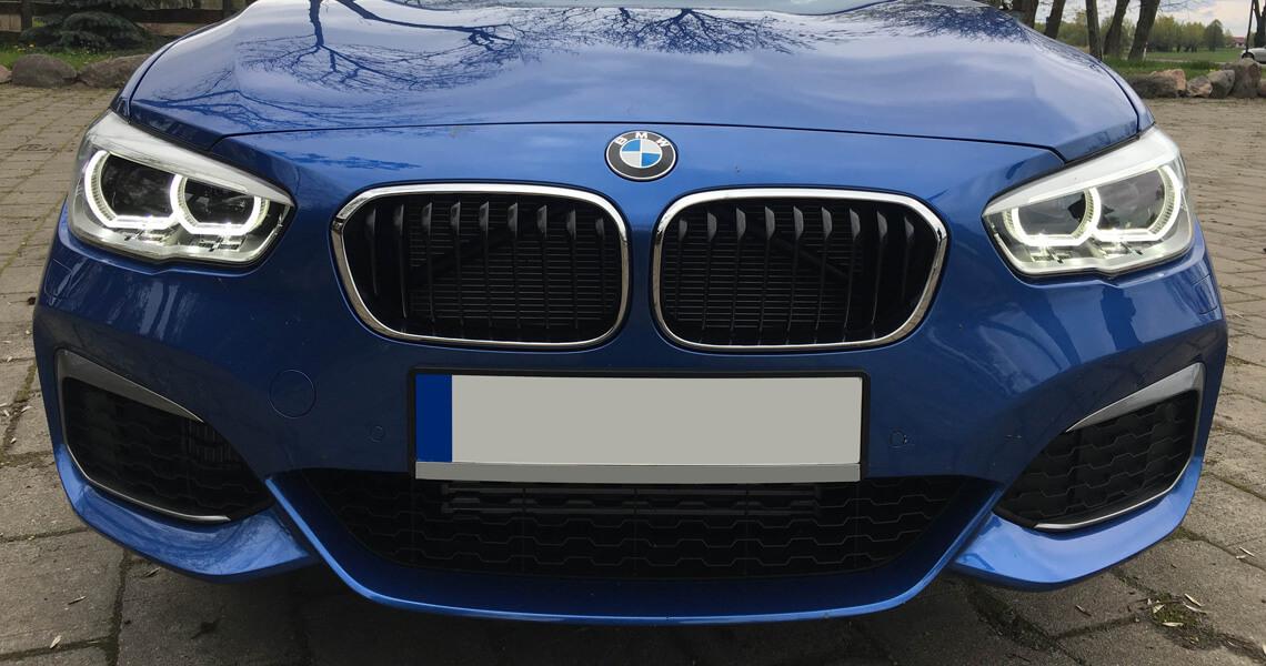 BMW m135i xDrive - przód