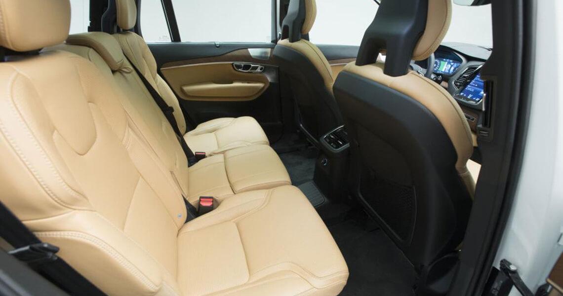 Volvo XC90 II - środek