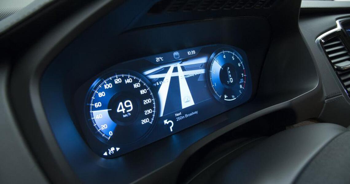 Volvo XC90 II - panel