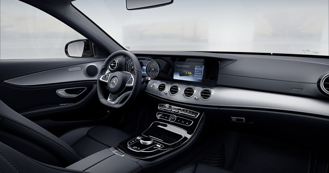 Mercedes E220 AMG Warszawa #13