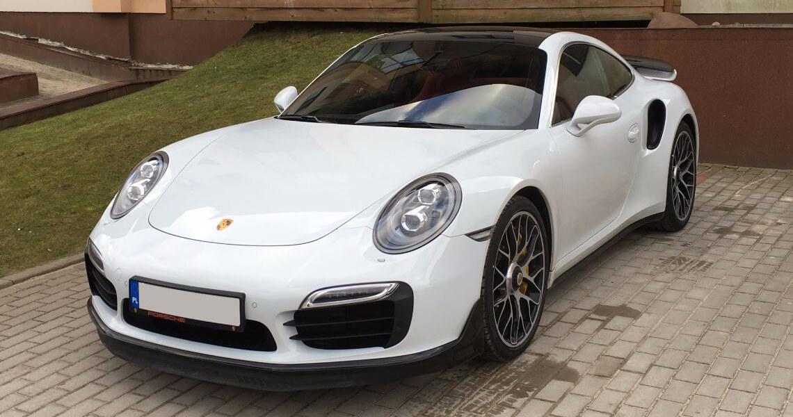 Porsche 911 Turbo S Warszawa #1