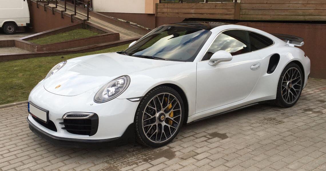 Porsche 911 Turbo S Warszawa #2