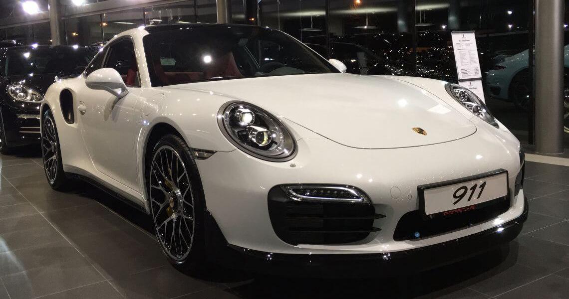Porsche 911 Turbo S Warszawa #3