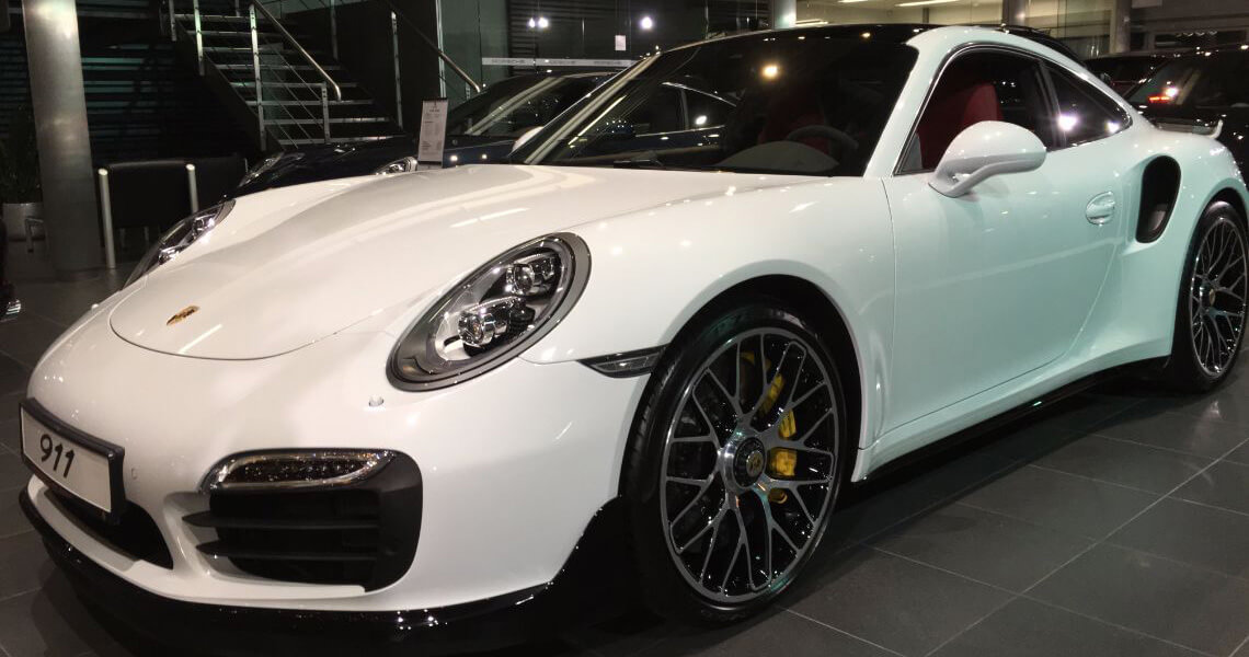 Porsche 911 Turbo S Warszawa #4