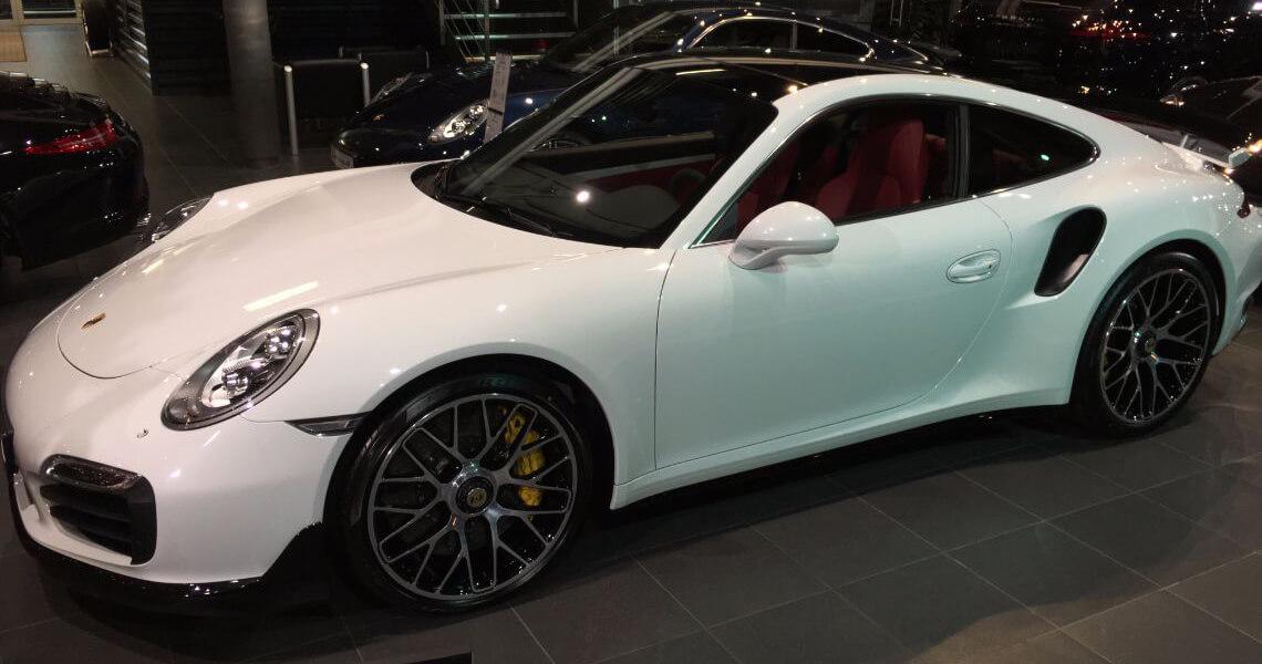 Porsche 911 Turbo S Warszawa #5
