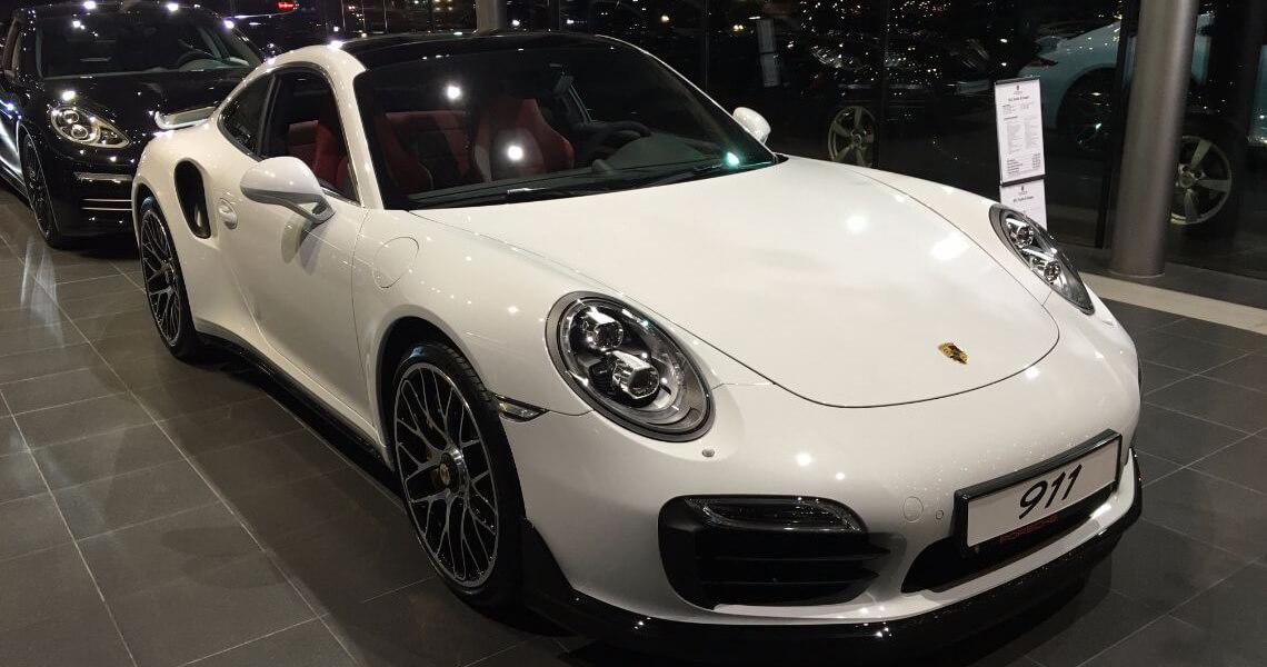 Porsche 911 Turbo S Warszawa #6