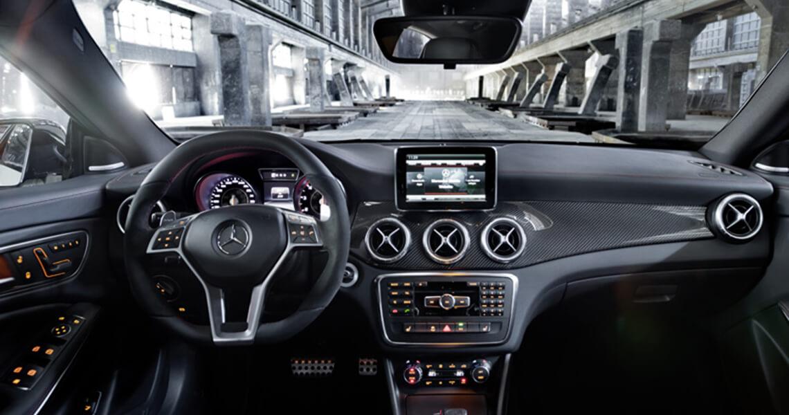 Mercedes CLA 45 AMG Warszawa #9